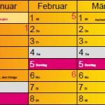 HHP Süd Kalender 2017 Farbe